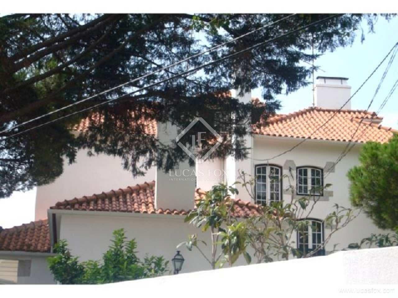805m haus villa zum verkauf in cascais und estoril. Black Bedroom Furniture Sets. Home Design Ideas