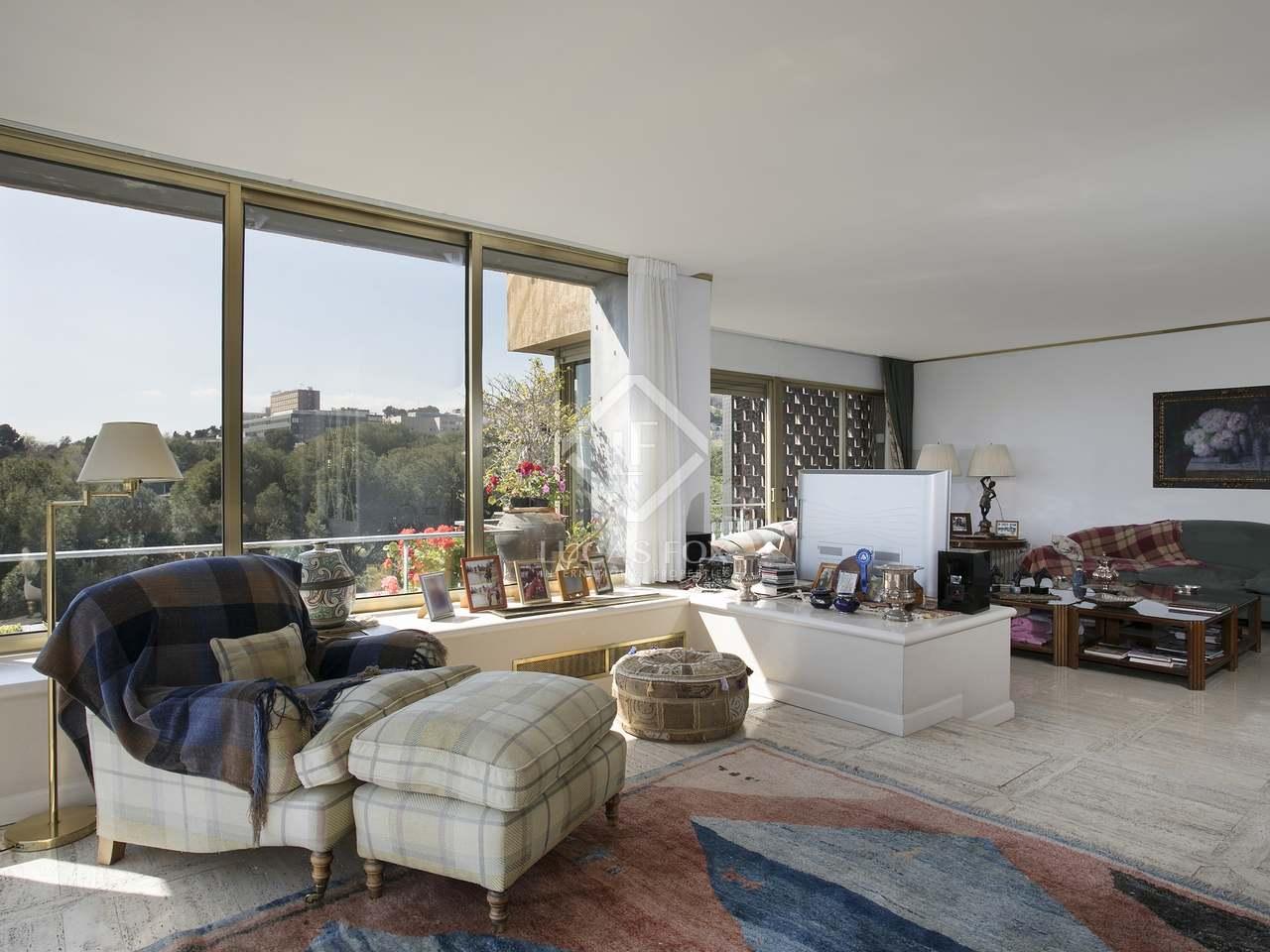 Apartamento de 200 m en alquiler en pedralbes barcelona for Alquiler de dormitorios