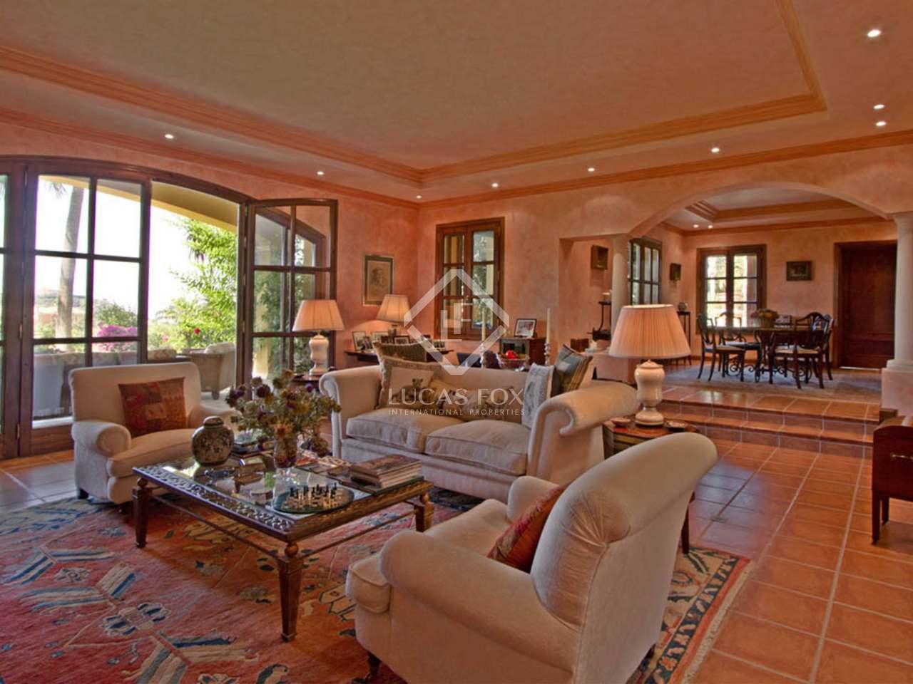 488m haus villa mit 65m terrasse zum verkauf in la zagaleta. Black Bedroom Furniture Sets. Home Design Ideas