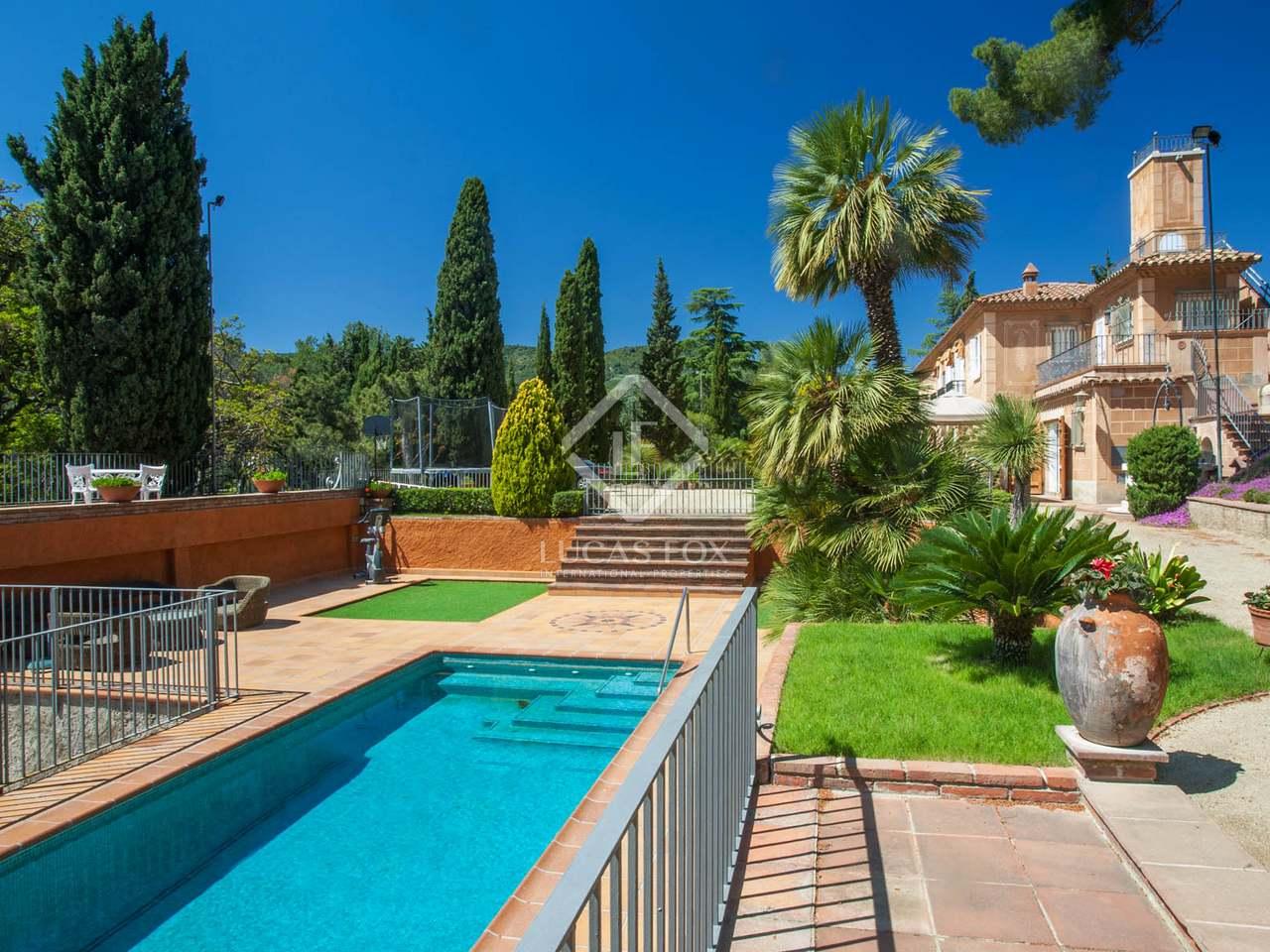 Villa de 450 m en venta en alella maresme Villa jardin donde queda