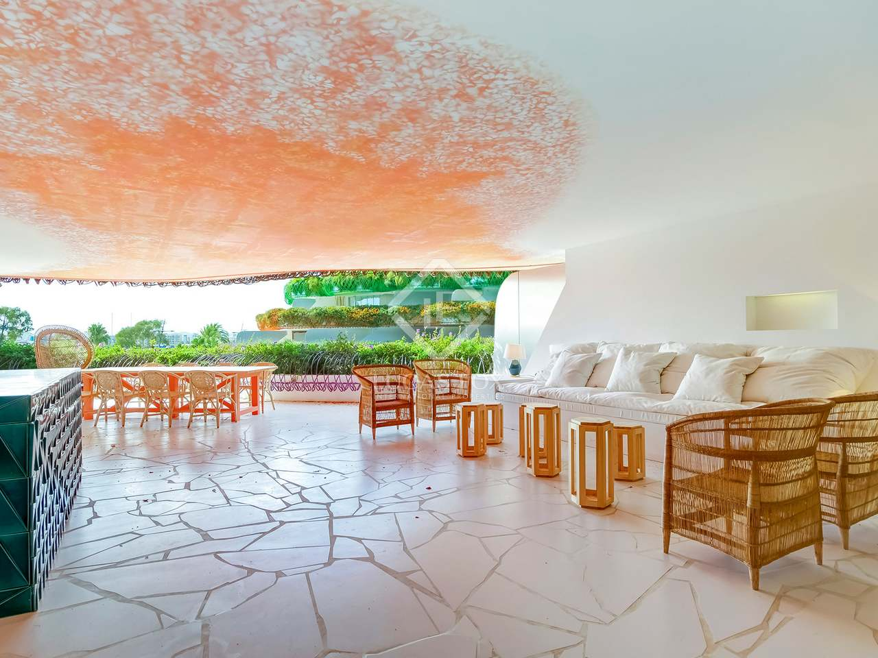 appartement de 184m a vendre ibiza ville avec 105m terrasse. Black Bedroom Furniture Sets. Home Design Ideas
