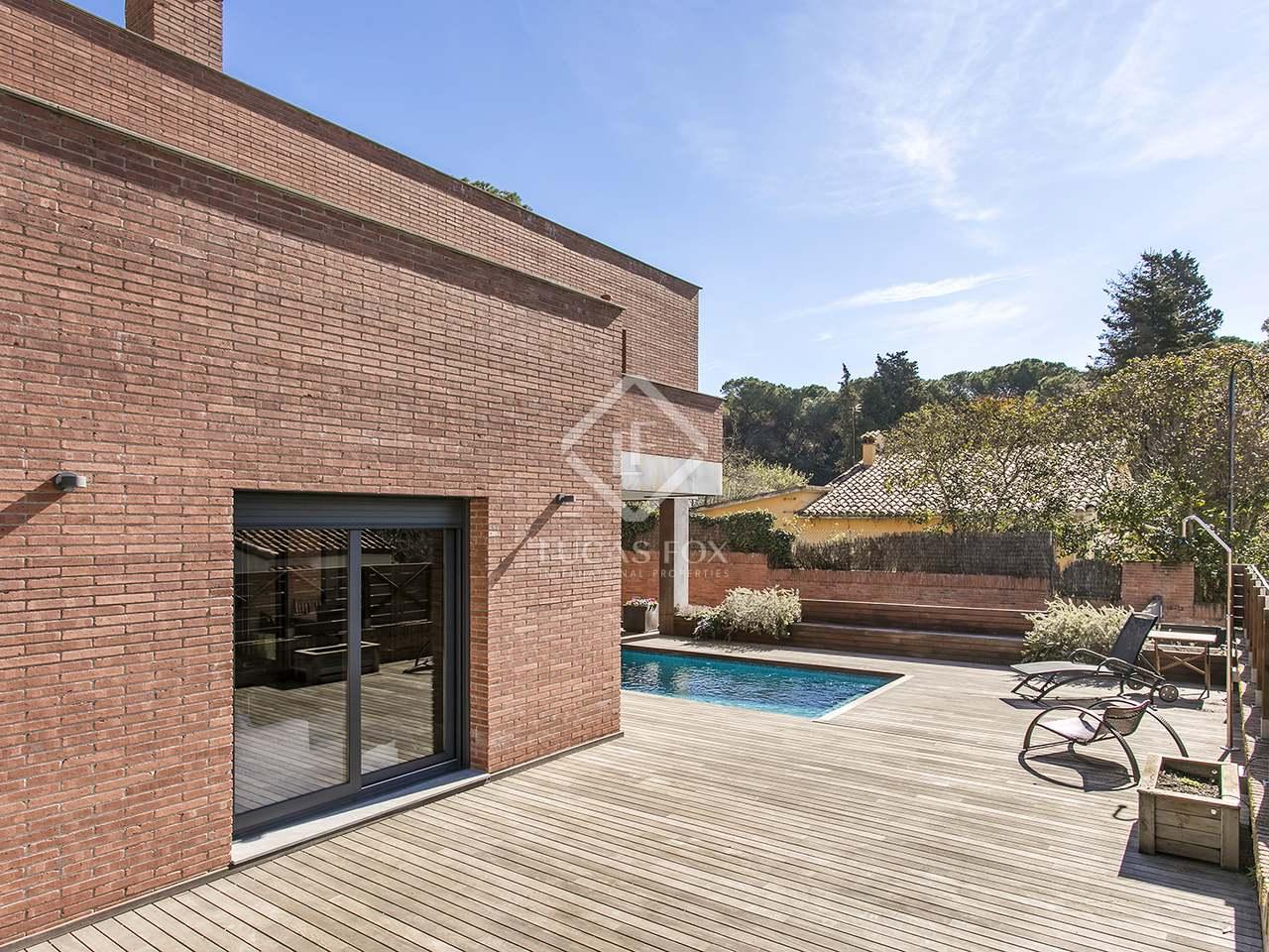 Huis villa van 265m te huur met 700m tuin in sant cugat for Huis met tuin te huur rotterdam