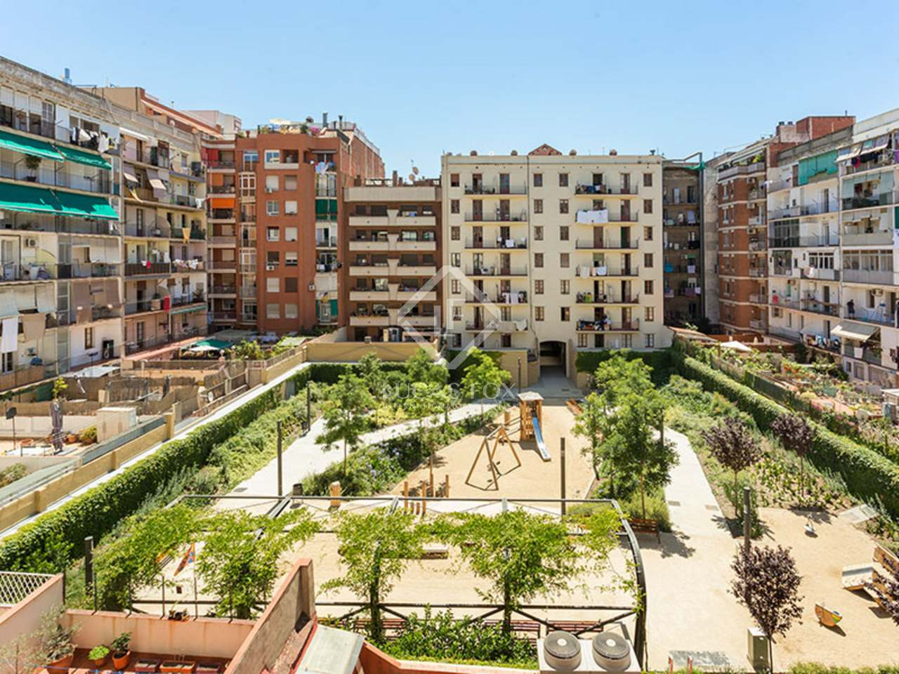 Appartement de 70m a vendre eixample gauche barcelone for Appartement piscine barcelone