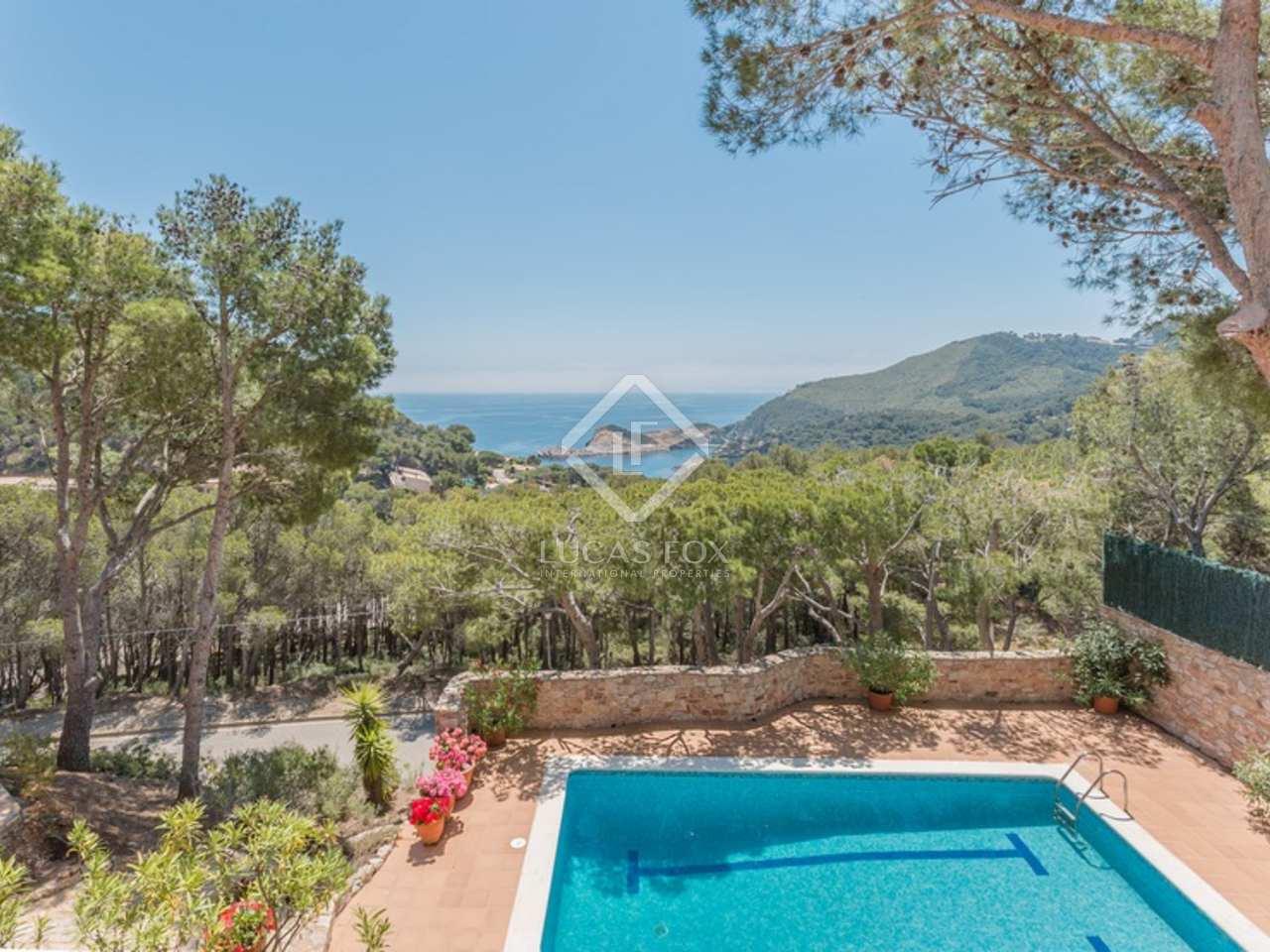 Villa vendre la costa brava pr s de begur avec des vues sur la mer fabule - Vendre sa part d indivision ...