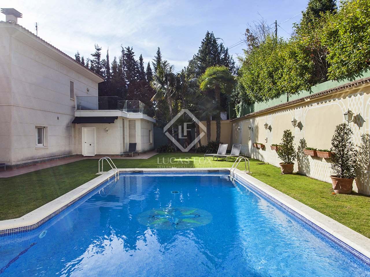maison villa de 520m a vendre pedralbes barcelone. Black Bedroom Furniture Sets. Home Design Ideas