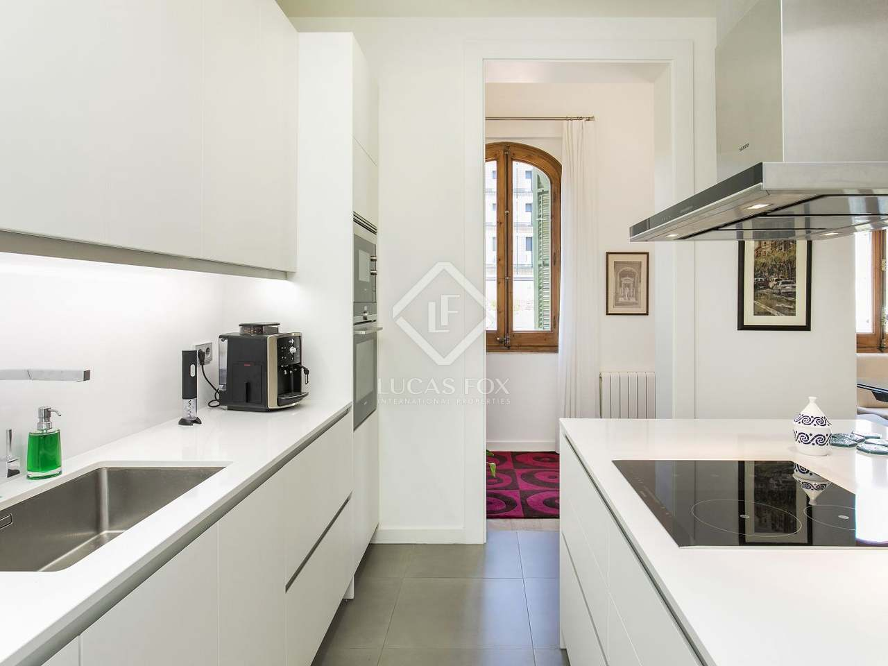 Appartement de 96m a vendre eixample droite barcelone for Chambre fabulous w barcelone