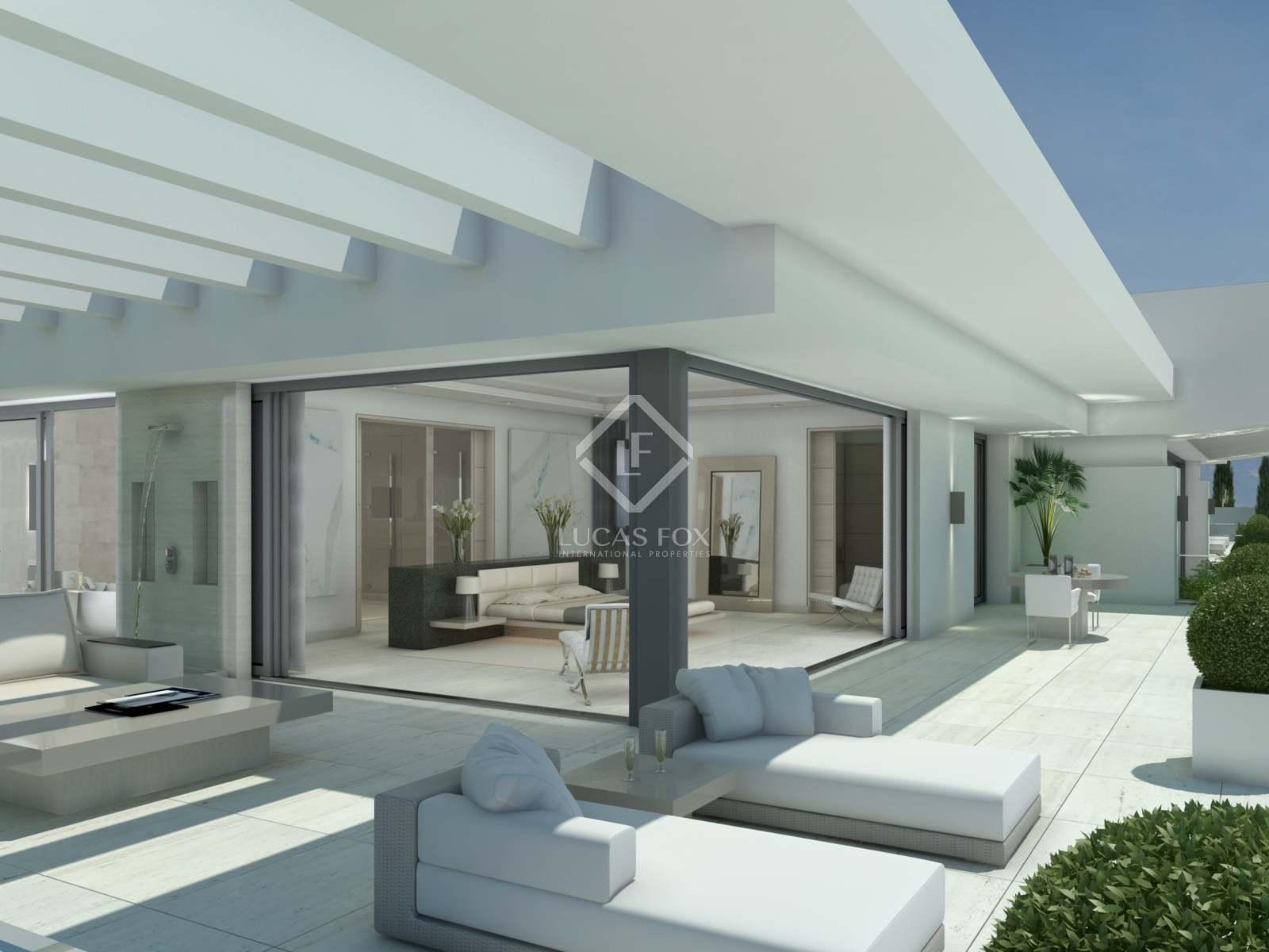 Camera Da Letto In Prospettiva Centrale casa / villa di 1,520m² con giardino di 1,211m² in vendita a