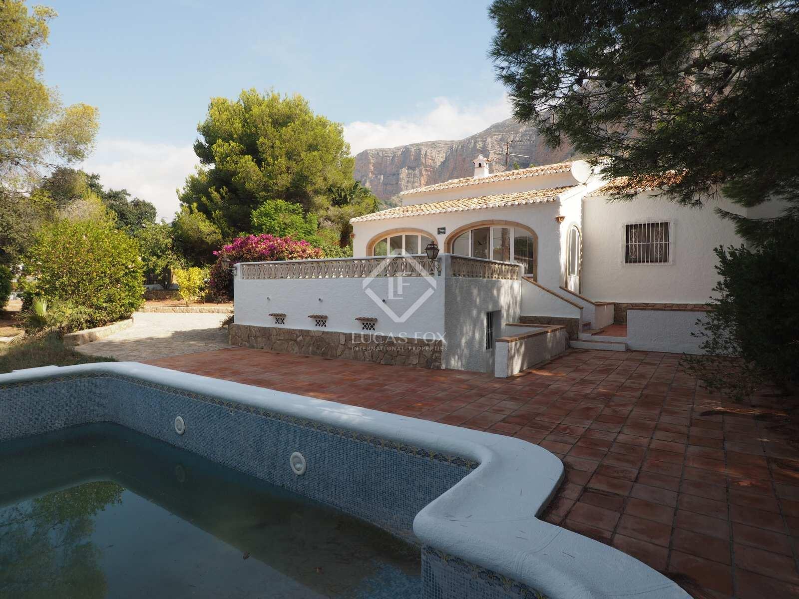 203m House Villa For Sale In Javea Costa Blanca