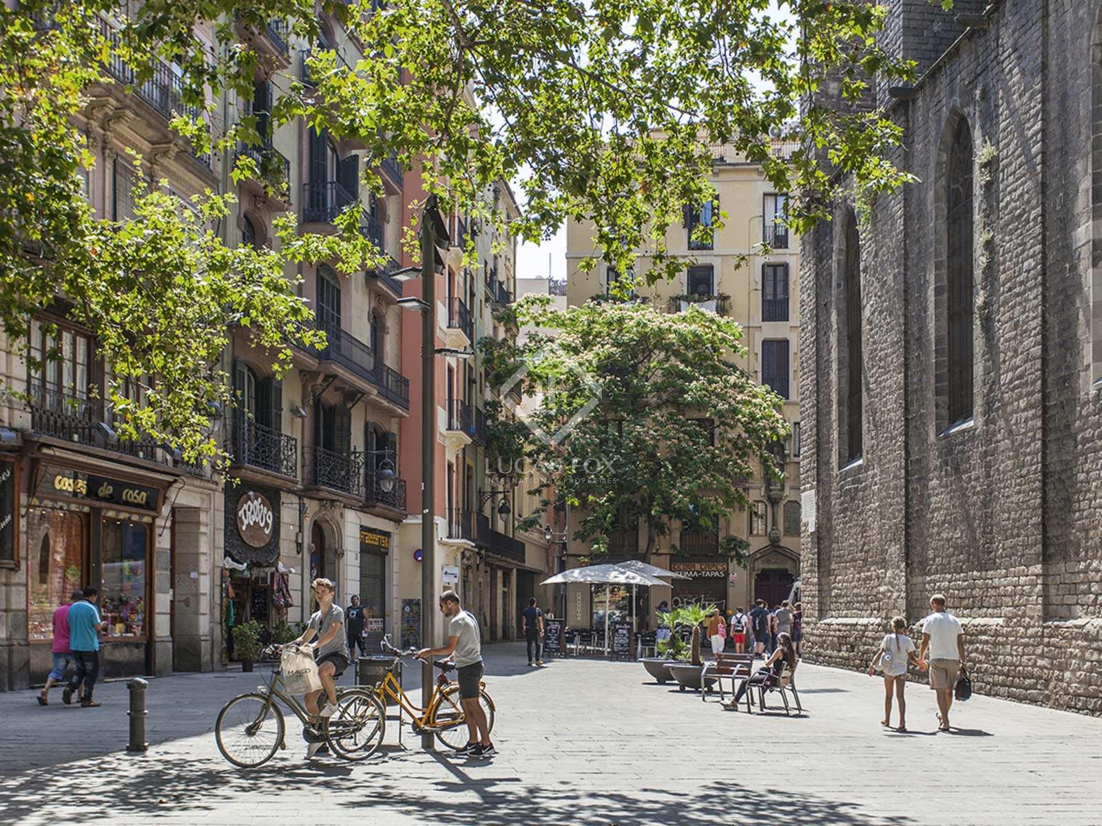Fantastic apartment for rent in Barcelona's Gothic Quarter