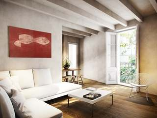 Second floor apartment for sale in new development, El Born