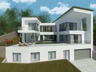 Large new house with pool to buy in Can Girona, Sitges