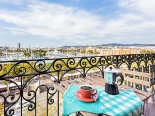 Modern 2-bedroom apartment for rent in Barceloneta
