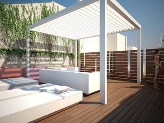 Spectacular new penthouse to buy on Rambla Catalunya