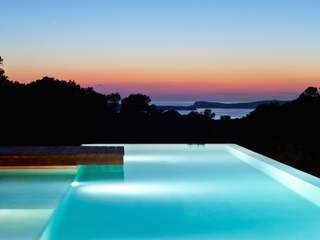 6-bedroom modern villa for holiday rent in Cala Conta, Ibiza