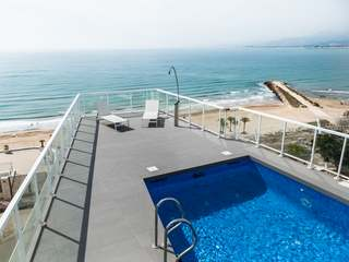 Seafront villa with views for rent near Cullera, Valencia