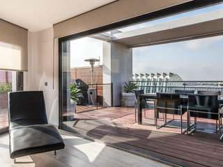 Spectacular penthouse with views for sale in Valencia City