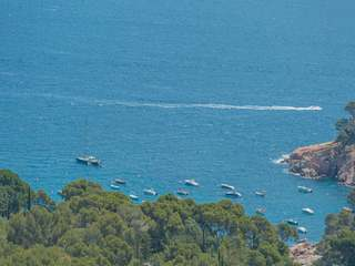 Costa Brava sea view building plot for sale near Begur