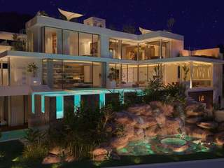 Luxury property under construction for sale in Ibiza