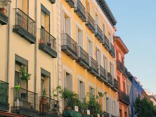 3-bedroom apartment for sale in Madrid centre, 2 balconies