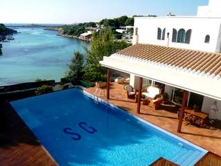 First line villa for sale in West Menorca