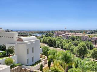 Duplex penthouse for sale in Los Flamingos Golf Resort