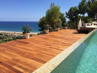 Large modern house for rent in Castelldefels, Barcelona city