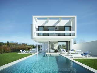 Luxury new build golf property near Girona city