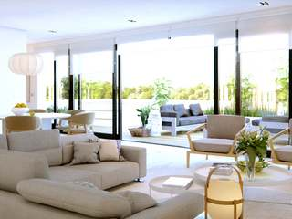 New build duplex to buy with private pool in Eixample Right