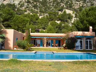 Sea view property for sale in Es Cubells, Ibiza