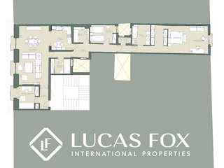Apartamento de 3 dormitorios en venta en Las Letras, Madrid