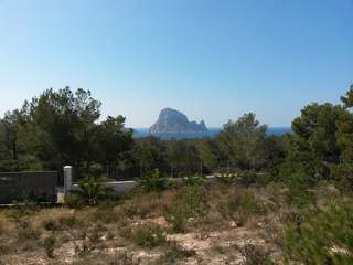 Plot with amazing views of Es Vedrá for sale