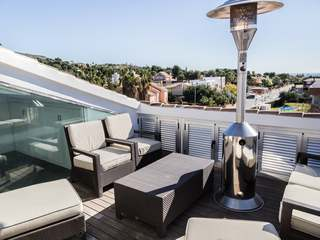 Duplex designer penthouse for sale near Puzol, Valencia
