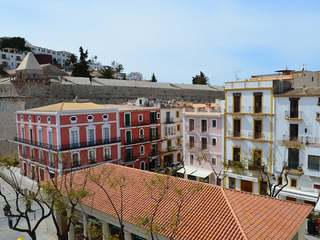 Penthouse apartment for sale in Dalt Vila Ibiza old town