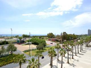 Breathtaking sea view from this apartment to buy in Poblenou
