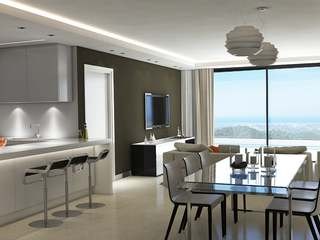 New build apartments for sale in the Golf Valley, Marbella