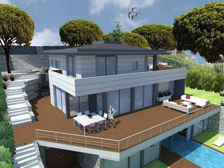 House under construction for sale in Alella, Maresme Coast