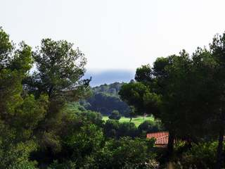 Scenic building plot for sale in Can Girona, near Sitges