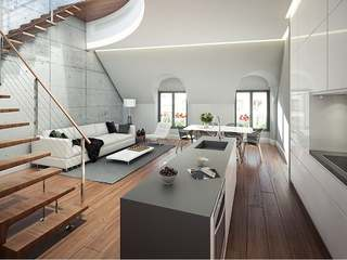 Superb new  3-bedroom penthouse for sale in Justicia