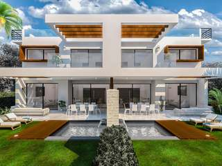 Brand new 3-bedroom semi-detatched villa to buy, Estepona