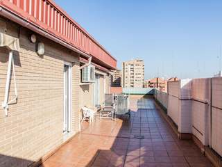 Duplex penthouse for sale in Pla del Real, Valencia
