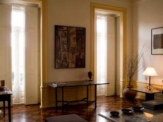 Character apartment in 19th century palace, Principe Real, Lisbon