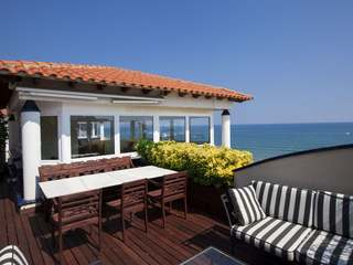 Stunning seafront duplex penthouse to buy in Sitges