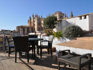 Duplex apartment for sale in the centre of Palma, Mallorca.