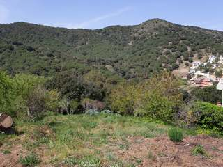 Building plot with valley views for sale in Alella, Spain