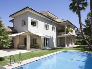 Luxury house to buy in Golf area Sant Cugat, near Barcelona