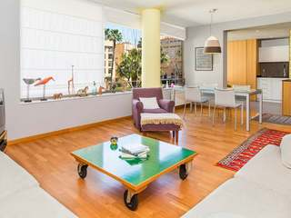 Furnished apartment for rent in Vila Olímpica,  Barcelona.