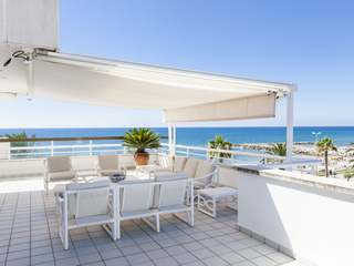 7-bedroom duplex penthouse with terraces for sale in Sitges
