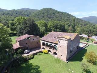 Country estate for sale Girona's La Garrotxa region