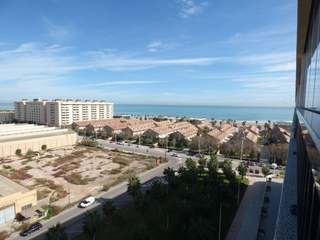 Penthouse with great sea views for rent in Playa Patacona