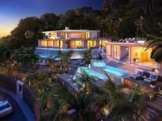 Prestigious property under construction for sale in Ibiza